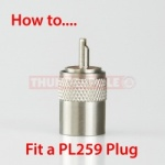 How To 'Fit a PL259 Plug'